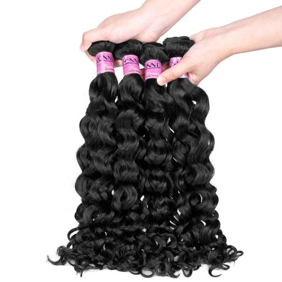 Premium Grade 100% Peruvian Italian Curl Virgin Hair Weave Natural Color 1Pcs/lot, Yvonne Italy Curl Hair Weft