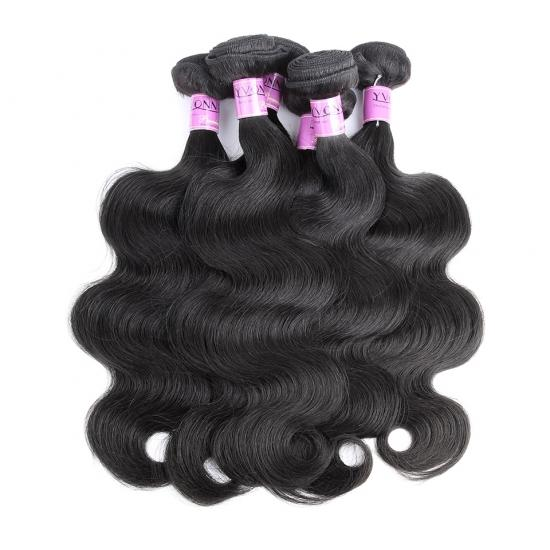 Platinum Grade Brazilian Hair Weave Body Wave Natural Color 1Pcs/lot