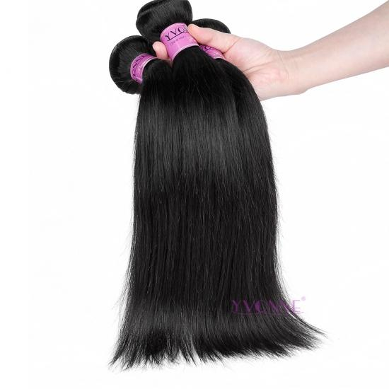 BIG SALE Natural Straight Peruvian Hair Weft,Yvonne Remy Human Hair Products