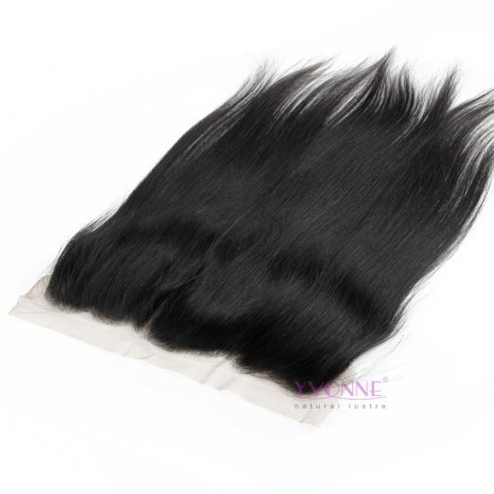 New Yvonne Hair Wholesale Price 13.5x4 Lace Frontal,100% Human Hair Natural Straight Lace Frontal,10